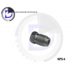 KPS-4 End fitting M12x1 for pipe 6,3mm