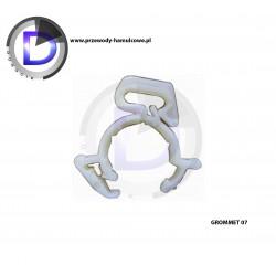 Mocowanie typu Grommet 7 - mocowanie przewodu elektrycznego