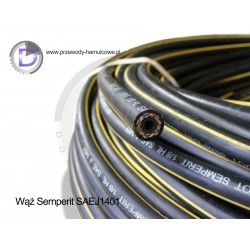 "Rubber brake hose - SEMPERIT SAEJ1401 1/8"" DN3,2mm / 10,5mm"