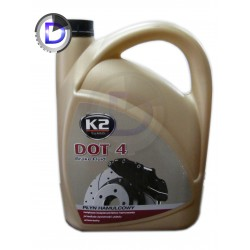 Płyn hamulcowy DOT4 duże opakowanie 5kg K2