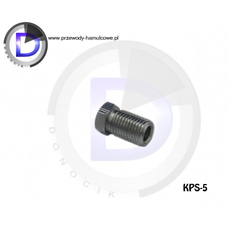 """KPS-5 End fitting 3/8""""x24 for pipe 4,8"""