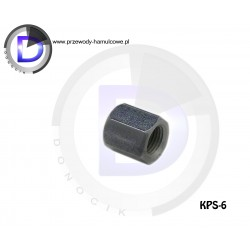 KPS-6 End fitting - Internal M10x1 for pipe 4,8