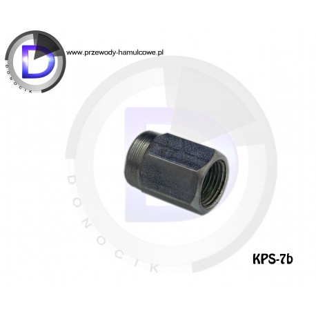 KPS-7b End fitting - Internal M12x1 for pipe 6,3mm
