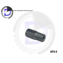 KPS-10 End fitting - Internal 3/8x24 for pipe 4,8