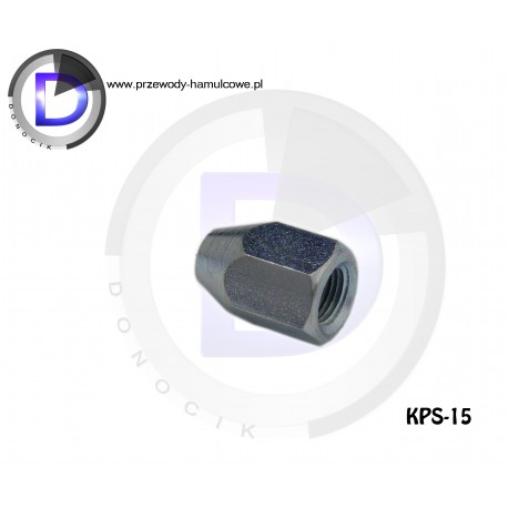 KPS-15 End fitting - Internal M10x1 for pipe 4,8