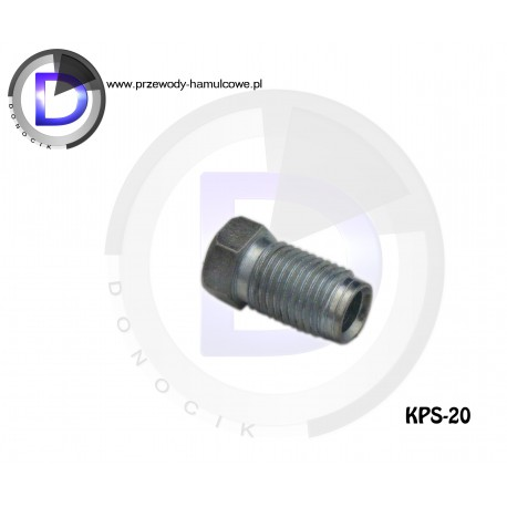 KPS-14 End fitting M12x1 for pipe 4,8