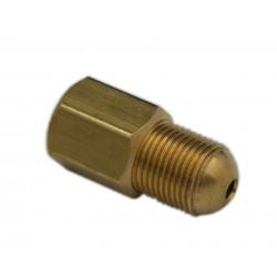 Łącznik przewodu M12x1 wew/zew