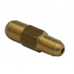 Connector M12x1 male/male
