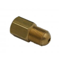 Connector M10x1 female/female