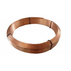 COPPER BRAKE LINE PIPE 4.8x0.9 - 3/16""