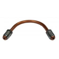 Przewód hamulcowy miedziany 4.8 Końcówka M10 (KPS2-SF M10x1) zakucie grzybek długość: 650mm