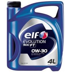 ELF EVOLUTION 900 FT 0W30 4litry