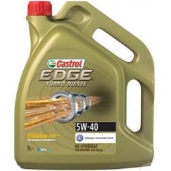 CASTROL EDGE TITANIUM 5W40 4litry