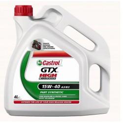 CASTROL GTX BIALY 15W40 4litry