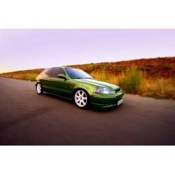 Honda Civic EJ9 - Zestaw przewodów hamulcowych miedzianych