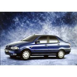 Fiat Seicento zestaw przewodów hamulcowych miedzianych