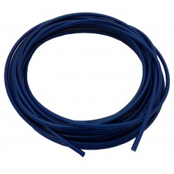 "Teflon steel braided brake hose 1/8"" DN3,2mm BLUE color cover"