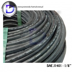 Wąż hamulcowy, gumowy QD 3,2x10mm SAEJ1401