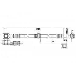 2825 elastyczny przewód hamulcowy OEM: 562377 astra g