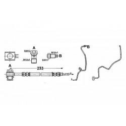 0354 elastyczny przewód hamulcowy OEM: 1J0611764K GOLF IV