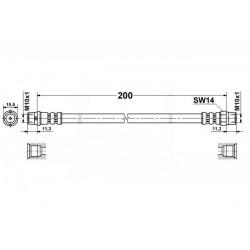 BME E36 tył belka