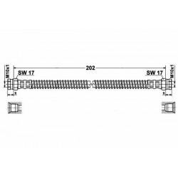 4010 elastyczny przewód hamulcowy OEM: 96124223