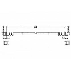 1152 elastyczny przewód hamulcowy OEM: 480686 Berlingo 1 Partner tył
