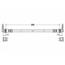 1153 elastyczny przewód hamulcowy OEM: 480694