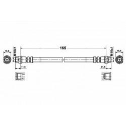 1165 elastyczny przewód hamulcowy OEM: 7700423975