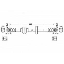 1168 elastyczny przewód hamulcowy OEM: 7701050070