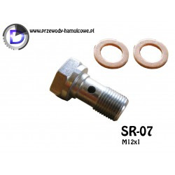 SR-07 Śruba drożna M12x1