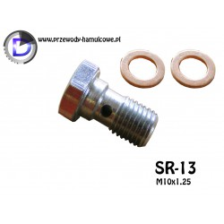 SR-13 Śruba drożna M10x1,25