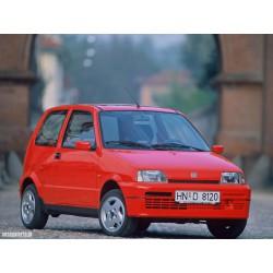 Fiat Cinquecento zestaw przewodów hamulcowych miedzianych