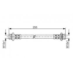 0100 elastyczny przewód hamulcowy OEM: 9094702D02