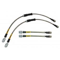 Volvo S60 - Zestaw przewodów hamulcowych elastycznych w oplocie