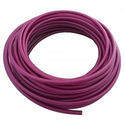 "Teflon steel braided brake hose 1/8"" DN3,2mm BLUE color cover"