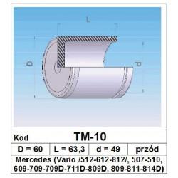 Tłoczek hamulcowy 60/63,3/49 TM-10
