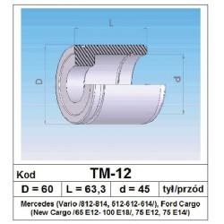 Tłoczek hamulcowy 60/63,3/45 TM-12