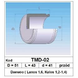 Tłoczek hamulcowy 51/43/41 TMD-02