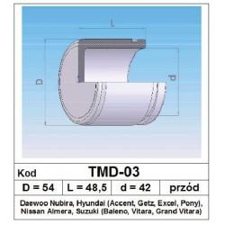 Tłoczek hamulcowy 54/48,5/42 TMD-03